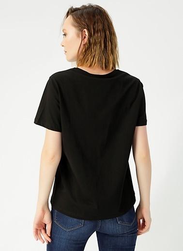 Limon Company Limon  Siyah Kadın T-Shirt Siyah